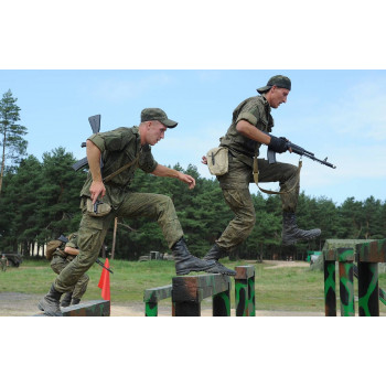 Физическая подготовка при обращении с оружием, ч. 1