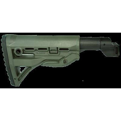 Полимерный приклад GL-SHOCK с трубкой AK 100P - от Rusdefense