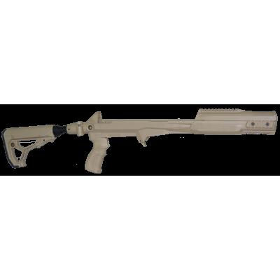 Ложе с рукояткой, прикладом GL-CORE и амортизирующей трубкой для СКС - от Rusdefense
