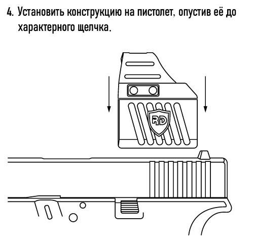 Магнитный кронштейн для прицела MGH - фото 5